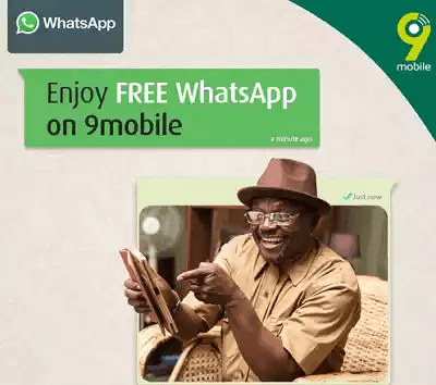 9mobile Free Whatsapp service