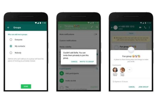 how to block people from adding you to Whatsapp groups