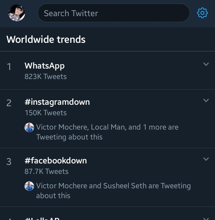 Breaking News : Whatsapp, Facebook And Instagram Are Down 9