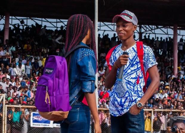 JanSport in Lagos
