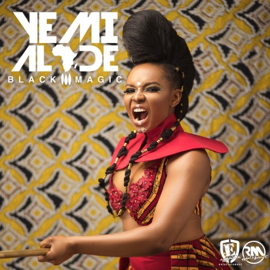 Yemi Alade Black Magic Album Artwork