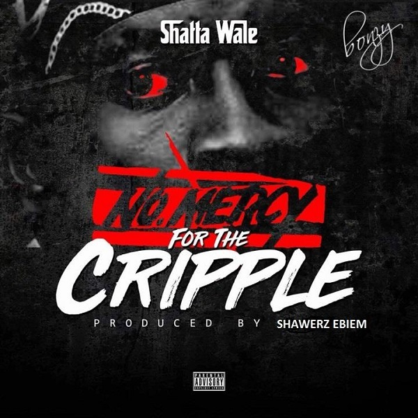 Shatta Wale No Mercy For The Cripple Artwork