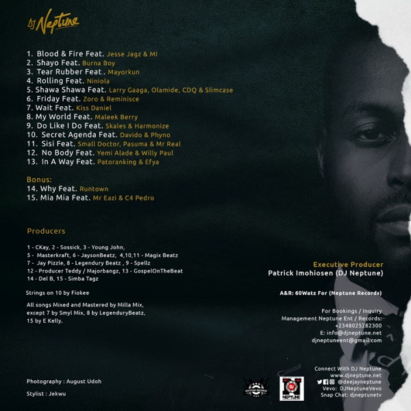 DJ Neptune Greatness Album Tracklist