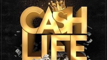 Shatta Wale Cash Life (The Baddest) Artwork