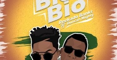 Reekado Banks Bio Bio Artwork