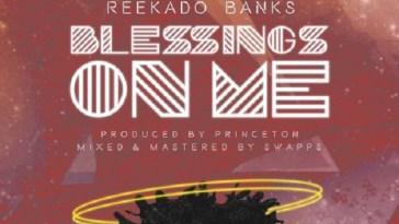 Reekado Banks Blessings On Me Artwork