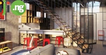 Jiji two-level apartment