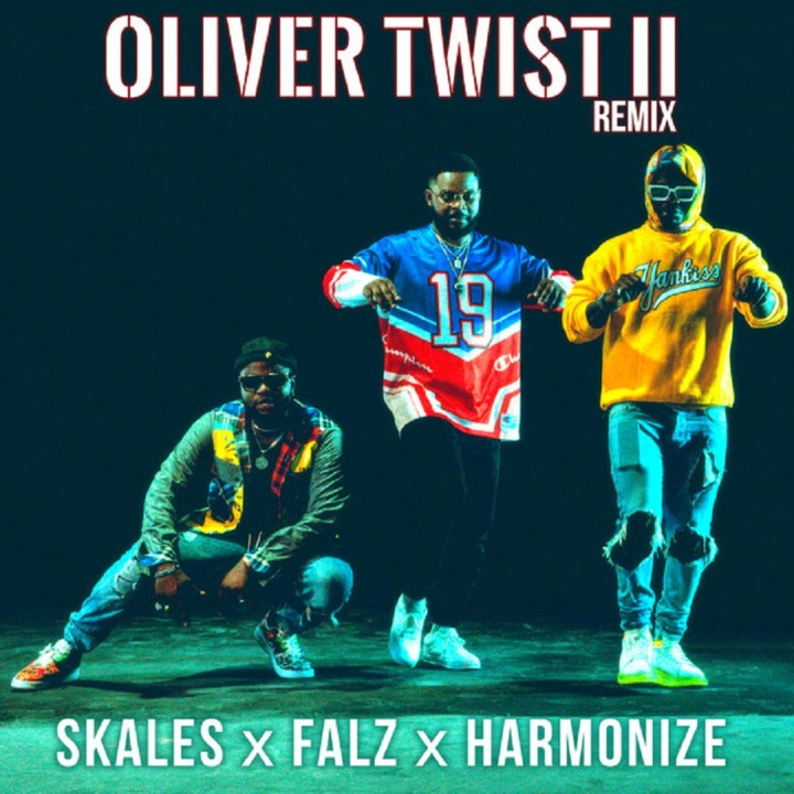 Skales – Oliver Twist Remix ft. Falz, Harmonize