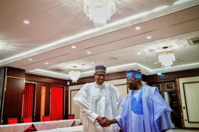Buhari Tinubu 600x400 300x200 - 9JA NEWS: Christmas: Tinubu calls on Nigerians to Support Buhari