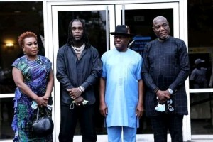 "FB IMG 16168771739745896 300x200 - Rivers State Governor Nyesom Wike Real Name Grammy Awards winning Burna Boy ""Damini Ogulu""  & proud of him (See Photos)"