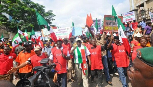 Over 100 Thugs Invade NLC Office In Kaduna - Over 100 Thugs Invade NLC Office In Kaduna