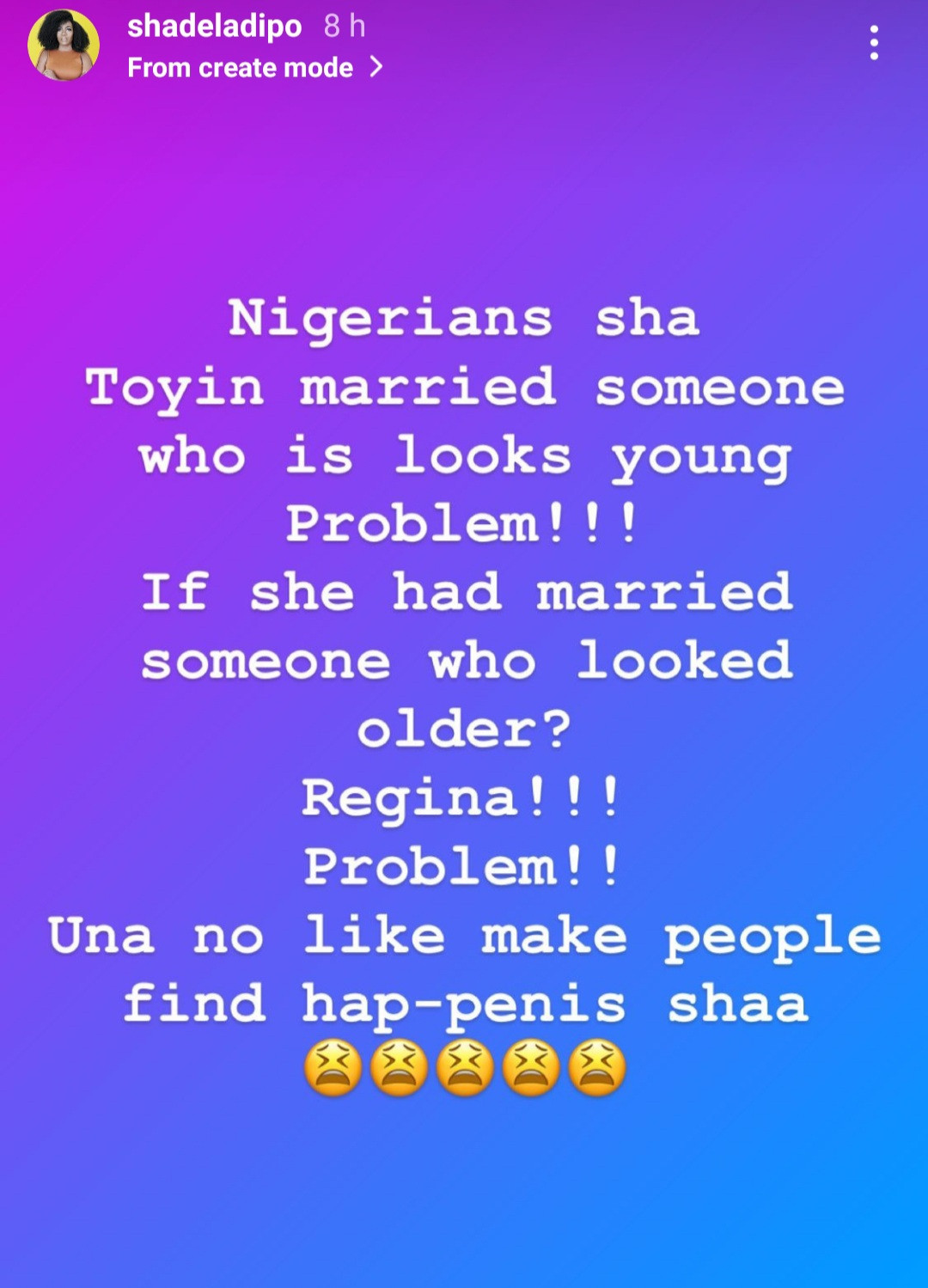 Nigerians don?t like when people find hap-p*nis- media personalty, Shade Ladipo