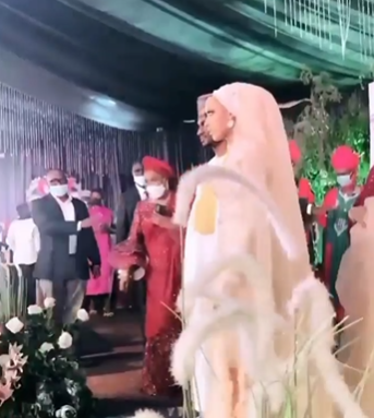 61202e092bf9f - First photos and video from wedding dinner of President Buhari's son, Yusuf