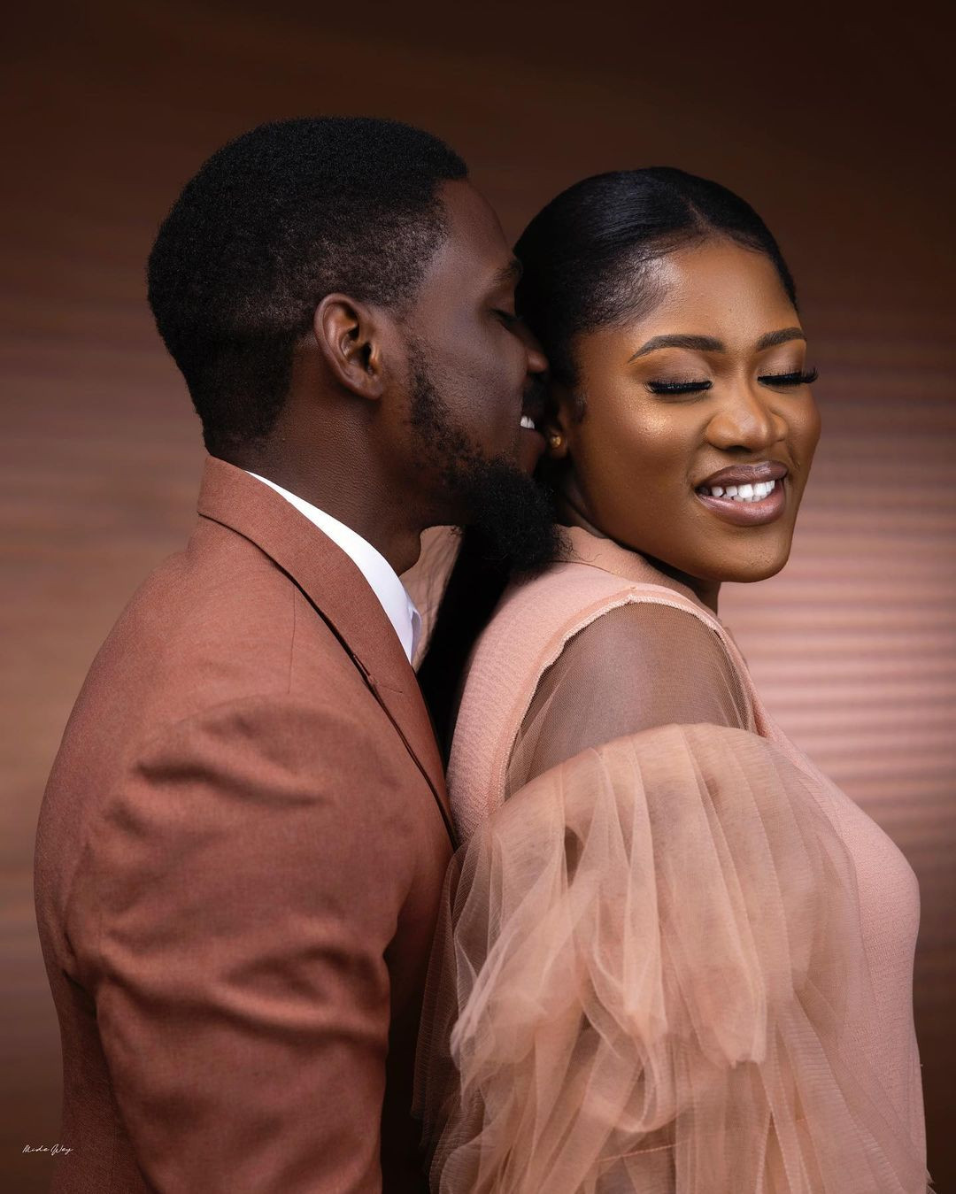 61209c6d60756 - ''I prayed and you came'' Tobi Bakare, gushes over his bride-to-be as he shares more pre-wedding photos