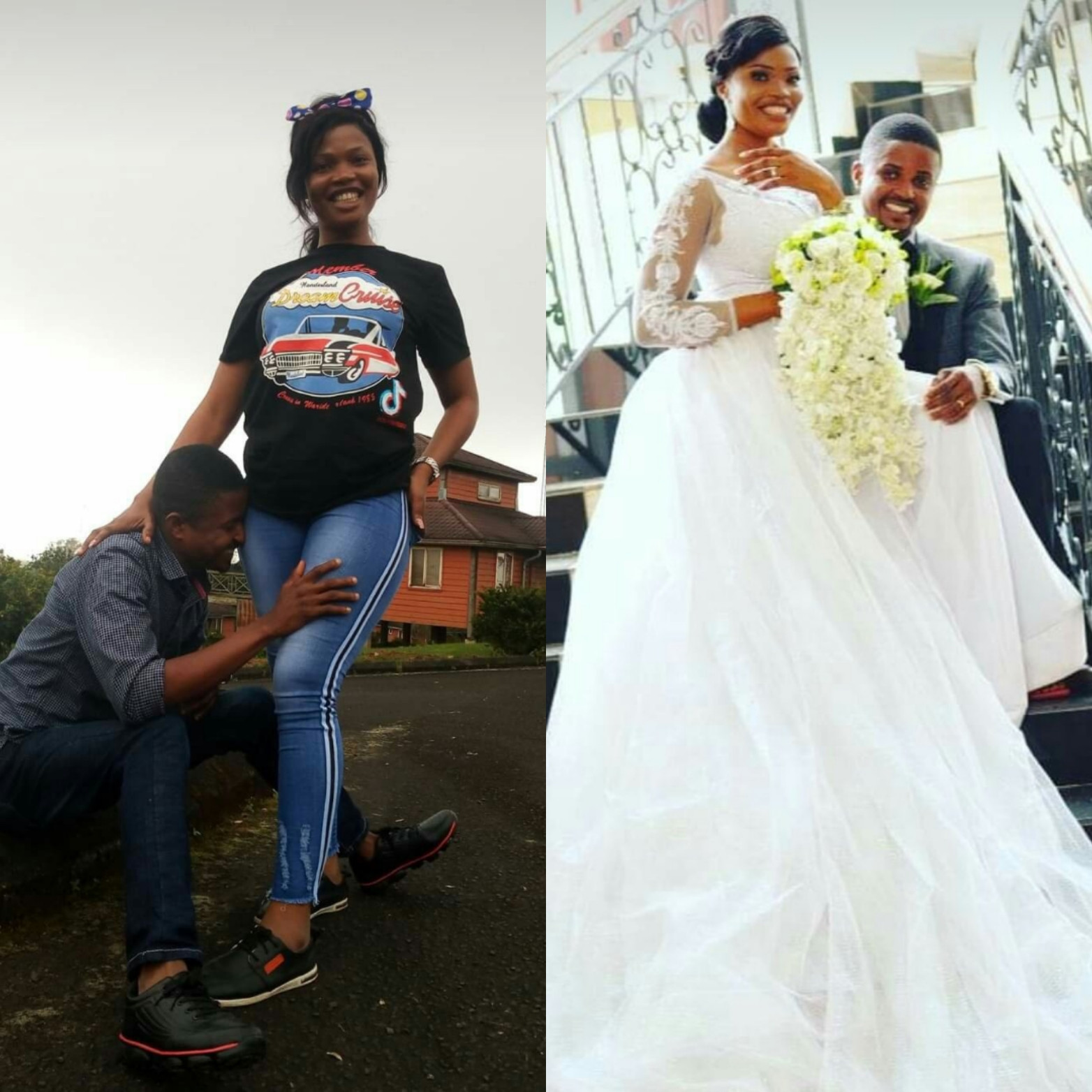 """61315832901a2 - """"JAMB lesson teacher turned hubby"""" Woman writes as she celebrates wedding anniversary with her former teacher"""