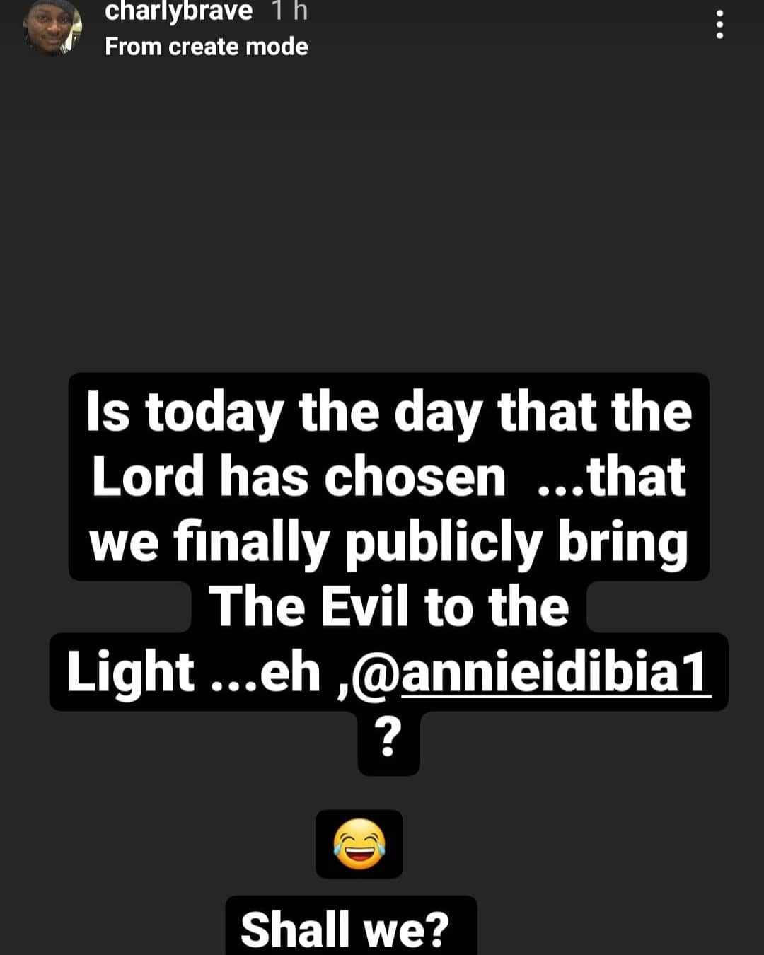 """61316be0e25b4 - """"Inno is dying slowly"""" Tuface Idibia's brother, Charles, hits back at Annie Idibia then accuses her mother of being involvedin """"Juju"""""""