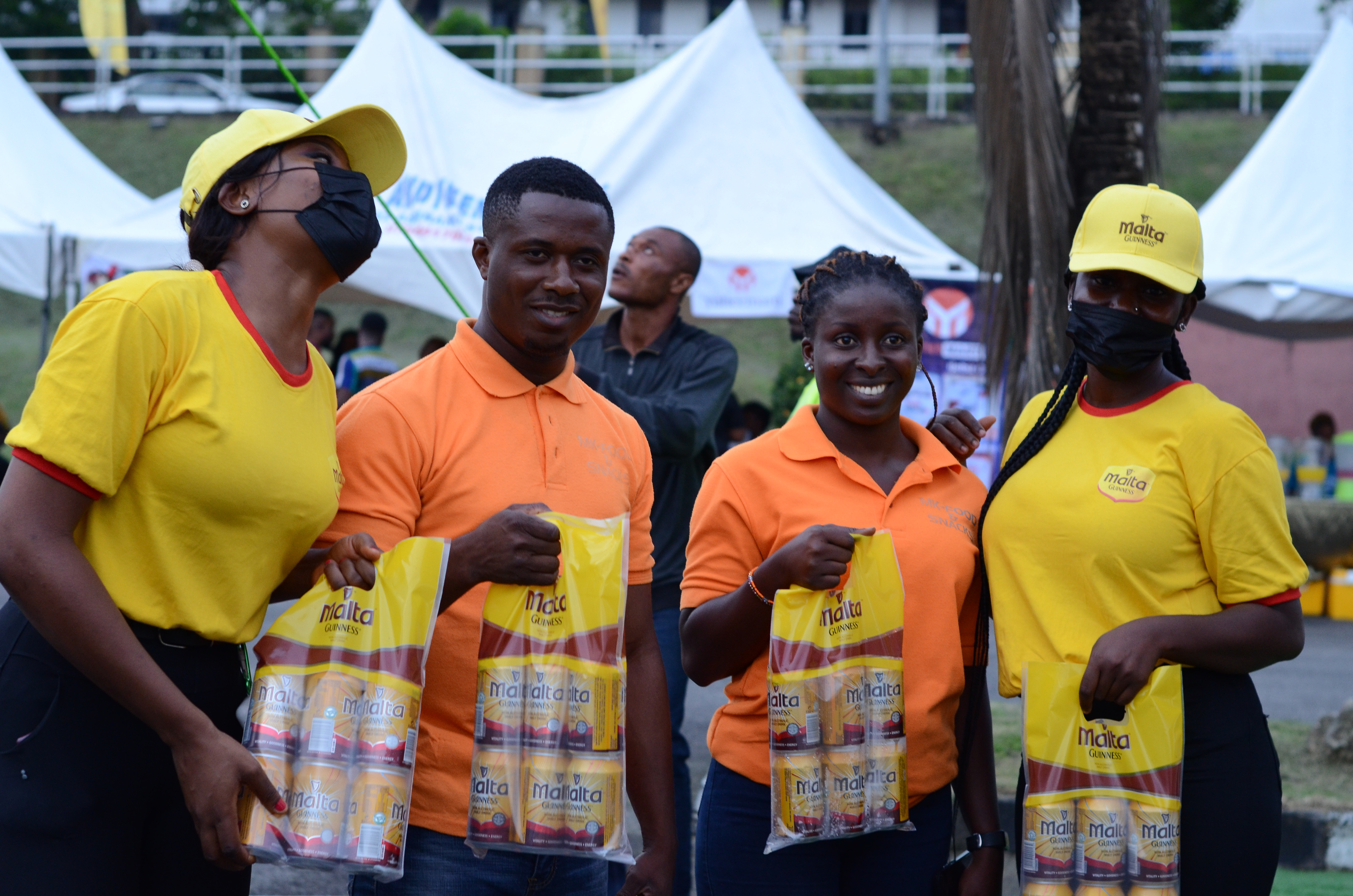 How Malta Guinness in Partnership with Nigerian Flavours 2021 Refreshed Calabar