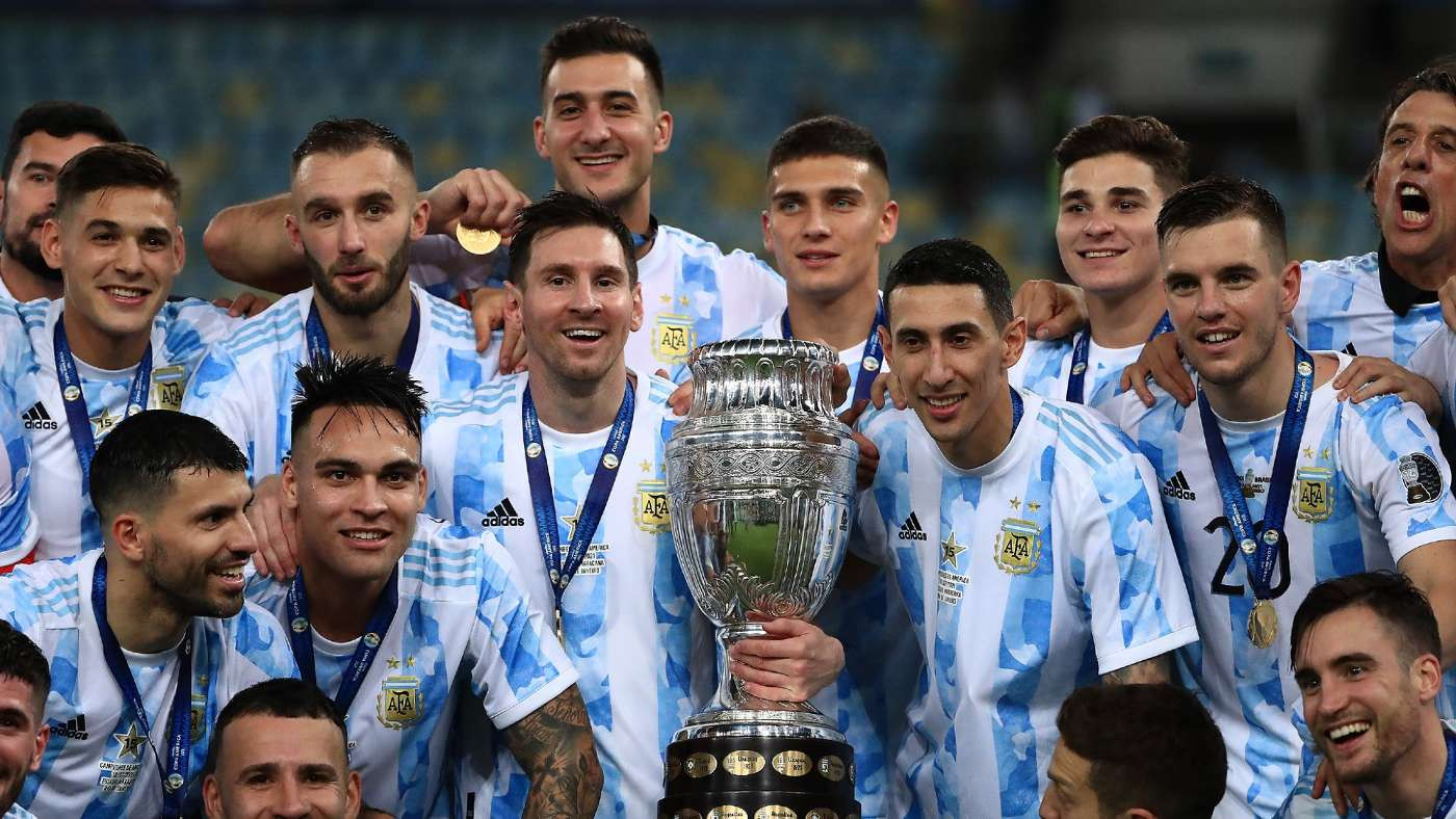 Winning Copa America with Argentina was