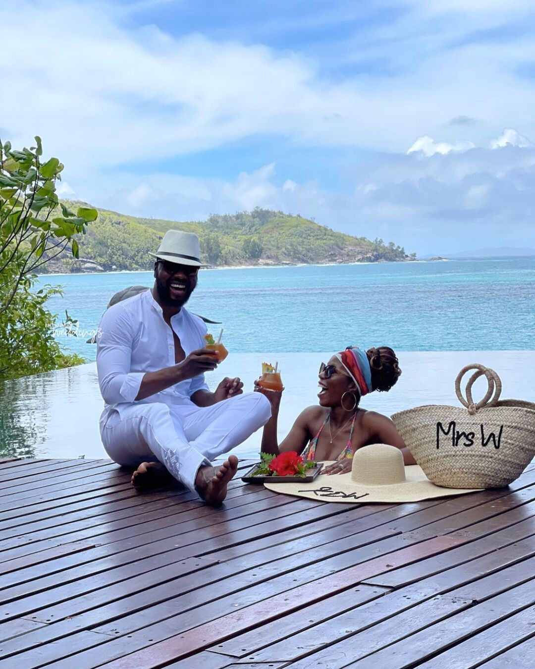 6140904baeb63 - Media personality, Debola Williams and wife spend their honeymoon in Seychelles