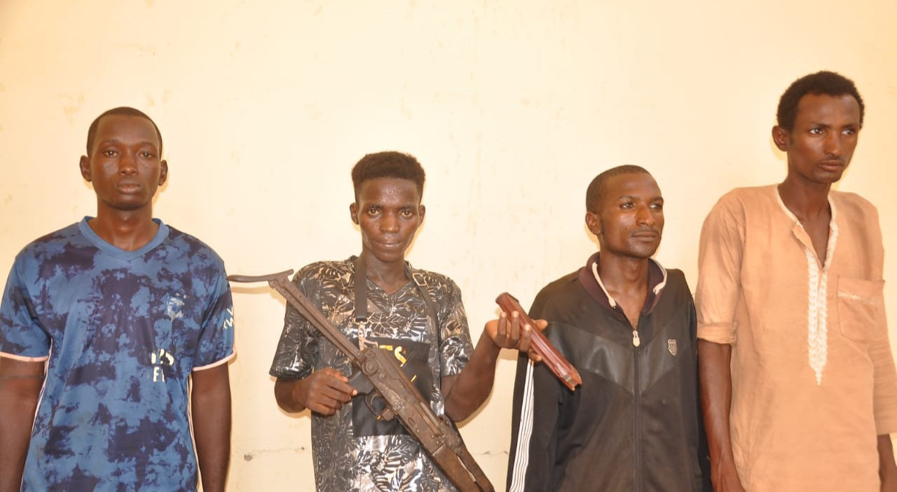 Update: Police arrest four members of notorious gang behind the kidnap of widow, her daughter and attack on police station in Adamawa