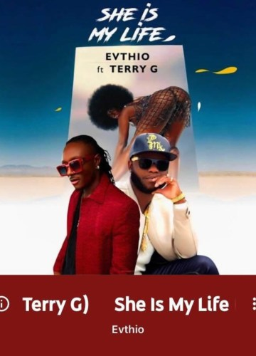 Evthio She Is My Life Artwork - Motivational quotes by AMB Paradise for you to make it big in LIFE