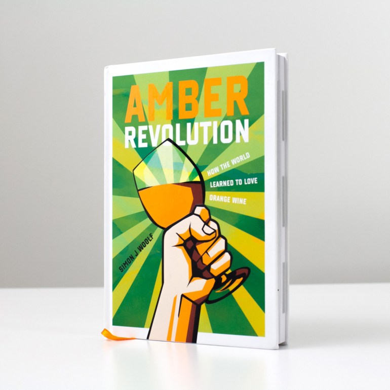 Photo of Amber Revolution Book by Simon Woolf - photo by Wine Folly