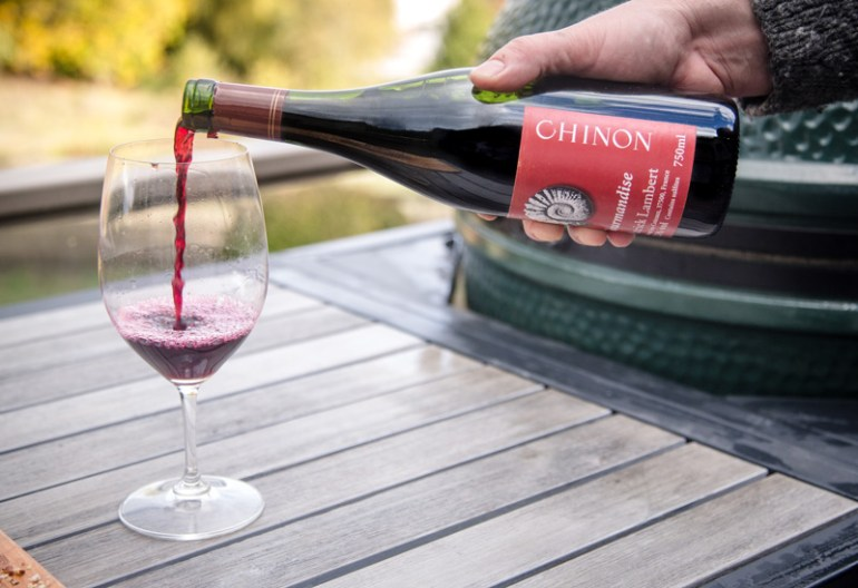 Chinon wine from the Loire Valley