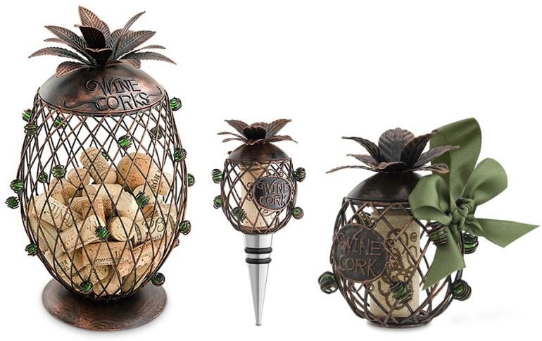 Pineapple Cork Cage