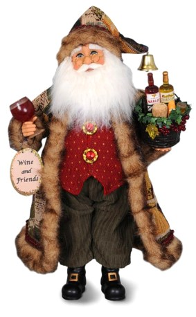 Santa Collectible Doll