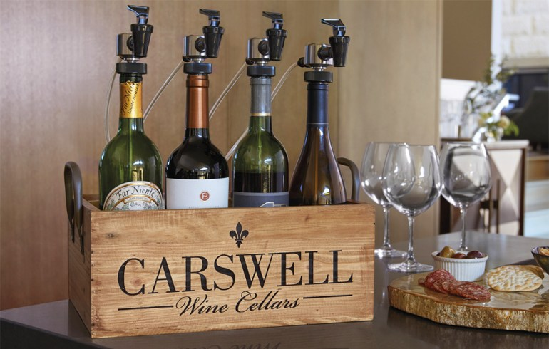 WineKeeper Personalized Serving Station