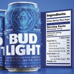Bud Light Bulks Up Its Nutrition Labels