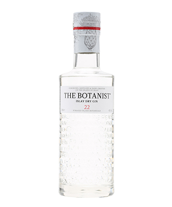 The Botanist is one of the best gins for 2019