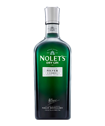 Nolet's is one of the best gins for 2019