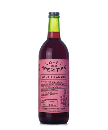 Lo-Fi Gentian Amaro is one of the seven best American amaro brands you can buy right now.