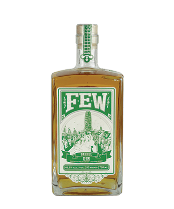 Few Spirits Barrel Gin is one of the best barrel-aged gins