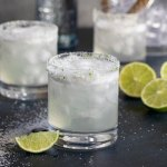 Classic Lime Margarita On the Rocks ~ Perfect in Every Way
