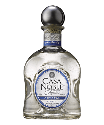 Casa Noble Crystal Blanco is one of the 30 best tequilas of 2020.