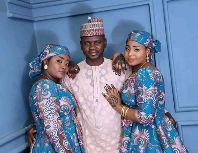 37-year-old man who married two wives says