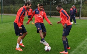 The youngster has impressed Wenger in training