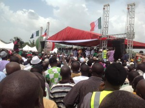 A Wada campaign rally