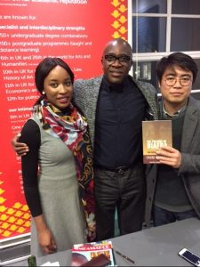 Offodile and some of attendees at the launch