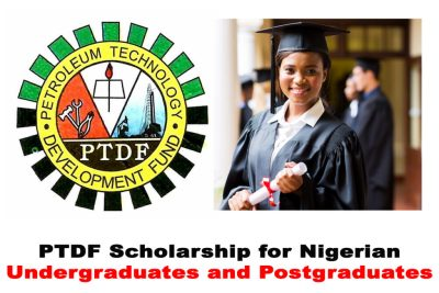 PTDF In-Country Scholarship Award 2021/2022 for Nigerian Federal University Undergraduates and Postgraduates   APPLY NOW