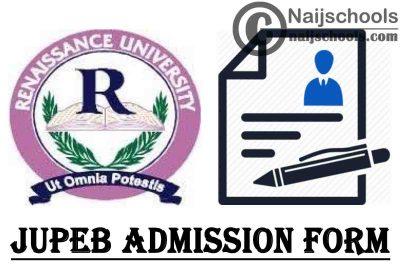 Renaissance University JUPEB Admission Form for 2021/2022 Academic Session | APPLY NOW