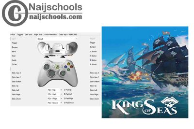 King of Seas X360ce Settings forAny PC Gamepad Controller | TESTED & WORKING