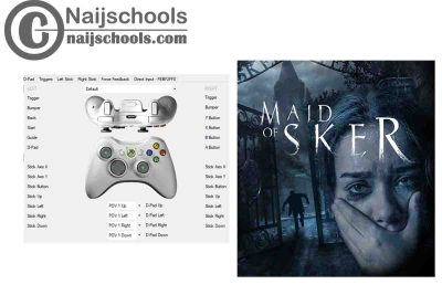 Maid of Sker X360ce Settings for Any PC Gamepad Controller | TESTED & WORKING