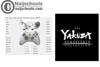 The Yakuza Remastered Collection X360ce Settings for Any PC Gamepad Controller | TESTED & WORKING