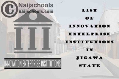 Full List of Innovation Enterprise Institutions in Jigawa State Nigeria