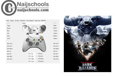 Dungeons & Dragons: Dark Alliance X360ce Settings for Any PC Gamepad Controller | TESTED & WORKING