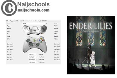 ENDER LILIES: Quietus of the Knights X360ce Settings for Any PC Gamepad Controller | TESTED & WORKING