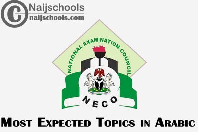 Most Expected Topics in 2021 NECO Arabic SSCE & GCE | CHECK NOW